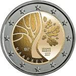 ESTONIA 2 EUR 2017 bimetal, Way toward Independance
