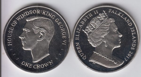 FALKLAND 1 Crown 2017 George VI