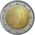 FINLANDIA 2 EUR 2017 bimetal, 100th Ann Independance