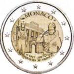 MONACO 2 EUR 2017 bimetal Proof, Police