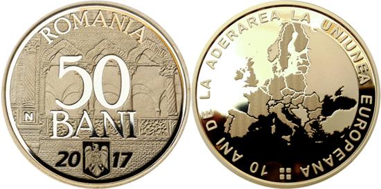 ROMANIA 50 Bani 2017
