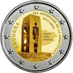 ANDORRA 2 EUR 2018 – 25ème Ann Constitution