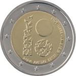 ESTONIA 2 EUR 2018 100th Ann republic