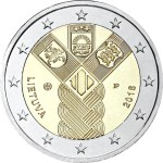 LATVIA 2 EUR 2018 Baltic States Independance