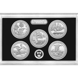 USA Quarters Silver Proof Set 2018