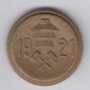 GERMANY 25 Pfennig 1921 Lengsfeld, ceramic