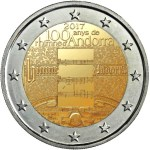 ANDORRA 2 EUR 2017 - 100th Ann national anthem
