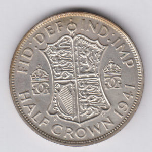 GREAT BRITAIN Half Crown 1941 - KM856 - silver, XF/SUP