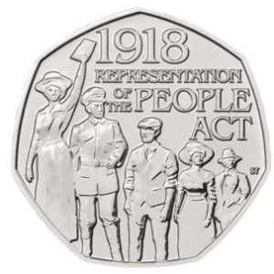 GREAT BRITAIN 50 Pence 2018 People Act