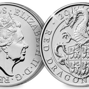 GREAT BRITAIN £5 2018 Welsh Red Dragon