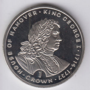 GIBRALTAR Crown 1993 KM133 - House of Hannover