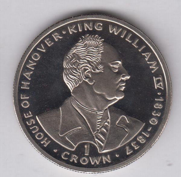 GIBRALTAR Crown 1993 KM137 – William IV