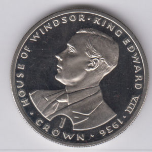 GIBRALTAR Crown 1993 - KM141 - Edward VIII
