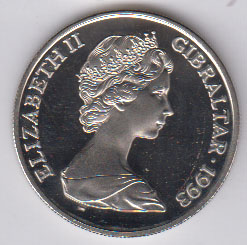 GIBRALTAR Crown 1993 - KM142 - George VI