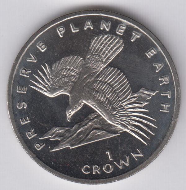 GIBRALTAR Crown 1994 – KM241 – Spanish Eagle