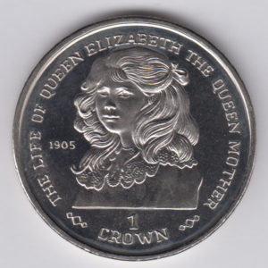 GIBRALTAR Crown 1999 - KM835 - Life of Elizabeth II
