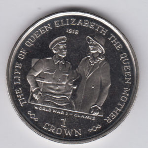 GIBRALTAR Crown 1999 - KM837 - Life of Elizabeth II