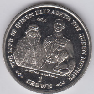 GIBRALTAR Crown 1999 - KM839 - Life of Elizabeth II