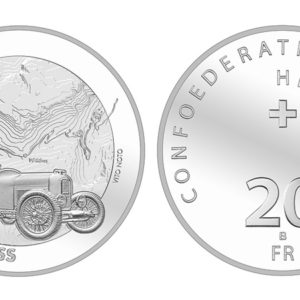 SWITZERLAND 20 Francs 2018 silver - Ship La Suisse