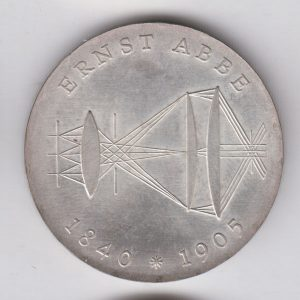 EAST GERMANY 20 Mark 1978 silver KM74 - Gotthold E. Lessing