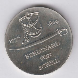 EAST GERMANY 5 Mark 1976 KM60 - Ferdinand von Schill