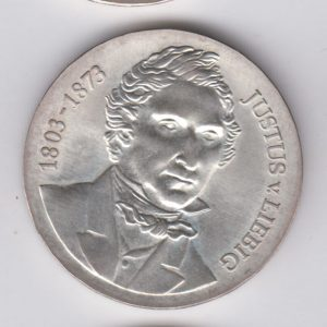 EAST GERMANY 10 Mark 1978 KM69 - Justius von Liebig