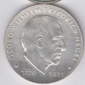 EAST GERMANY 10 Mark 1981 KM81 - Georg Hegel