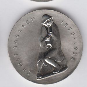 EAST GERMANY 5 Mark 1988 KM122 - Ernst Barlach